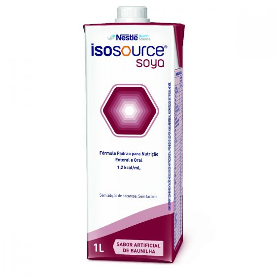 Isosource Soya Baunilha - Tetra Square 1L